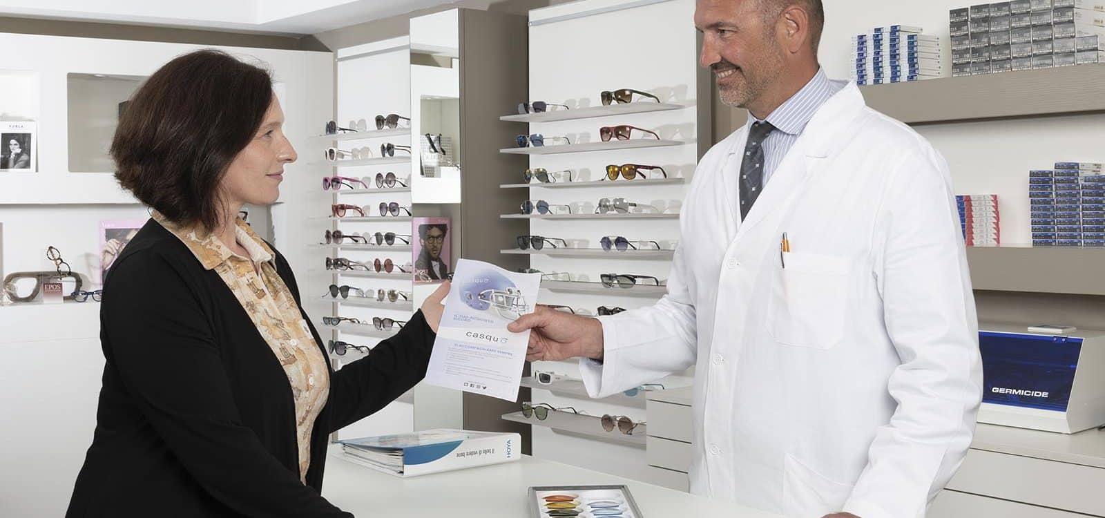 Assicurazione occhiale Ottica Polverini