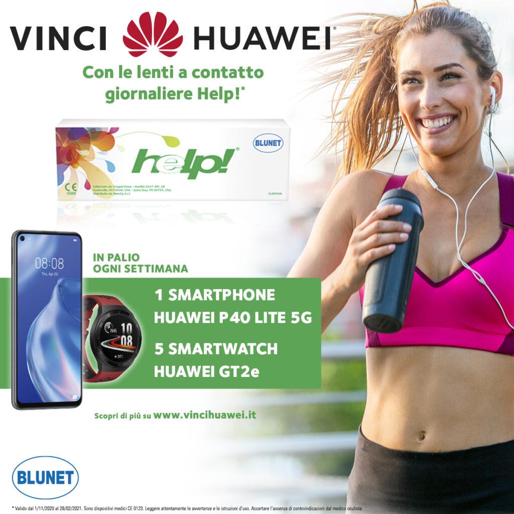 vinci Huawei con Help!